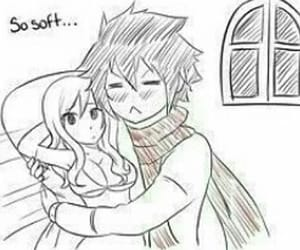 grey, fairy tail, and juvia image