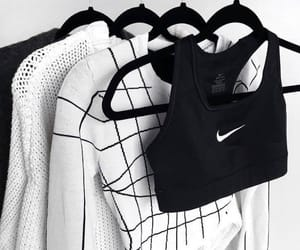 fashion, nike, and clothes image