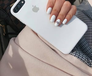 iphone, fashion, and nails image