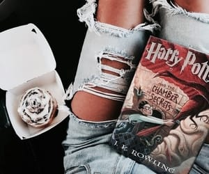 book, fashion, and harry potter image