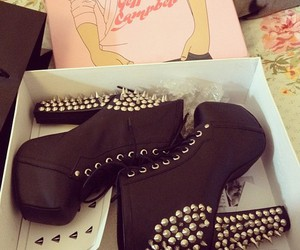 black, high heel, and jeffrey campbell image