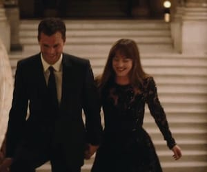 couple, christiangrey, and love image