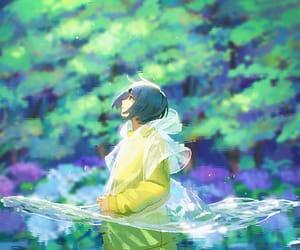 anime, sun, and pixiv image