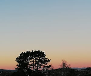 auckland, sunset, and winter image