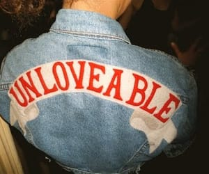 grunge, unloveable, and jacket image