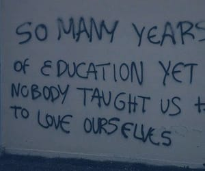 quotes, education, and grunge image