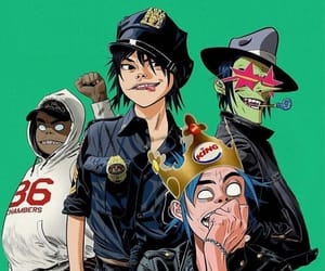 ace, gorillaz, and noodles image