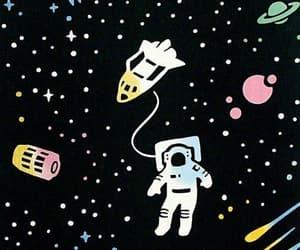 astronauta, espacio, and patron image
