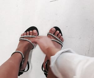 girl, heels, and indie image