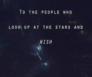 stars, wish, and sky image