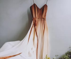 copper, dress, and fancy image