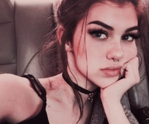 chic, girl, and grunge image