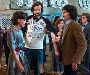 stranger things, millie bobby brown, and mike wheeler image