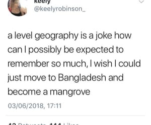 exam, geography, and hilarious image