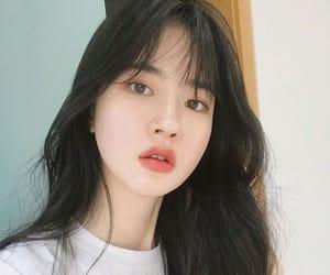 asian, beautiful, and eyes image