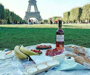 food, paris, and picnic image
