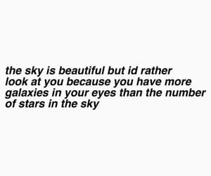 quotes, galaxy, and sky image