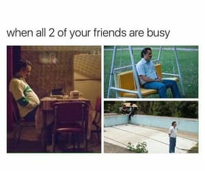 alone, funny, and lol image