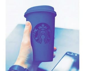 black, coffee, and starbucks image
