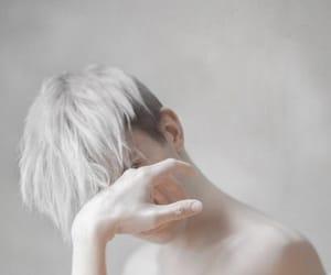 art, minimalism, and blonde image