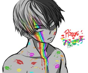 lgbtq, todoroki, and anime boy image