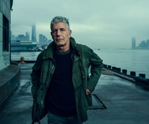 anthony bourdain, chef, and cook image
