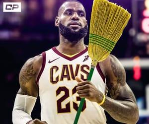 broom and lebron image