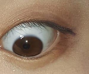 asia, creepy, and eye image