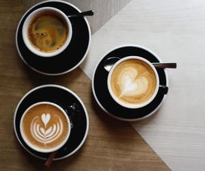 aesthetic, cafe, and cream image