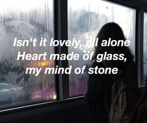 lovely, Lyrics, and billie eilish image