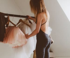 athletic, ballet, and yoga image