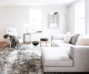 interior, living room, and design image
