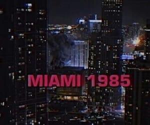 grunge, Miami, and dark image
