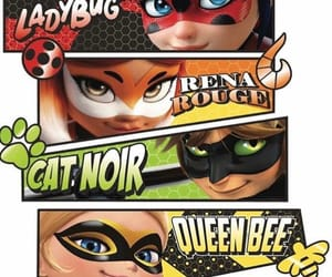 Chat Noir, ladybug, and heroes image