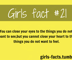 quote, girl, and girls fact image