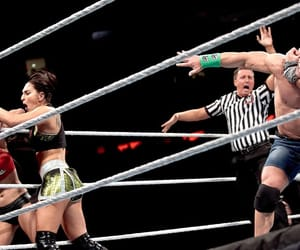 wwe, john cena, and nikki bella image