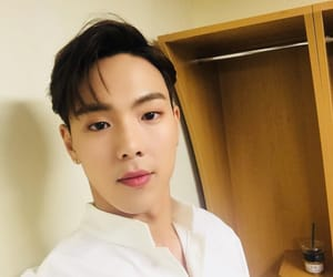 handsome, selca, and cute image