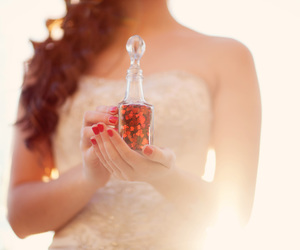 :), bride, and fashion image