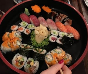 sushi, theme, and aesthetic image