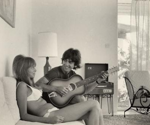 boy, girl, and guitar image