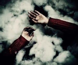 dark, madness, and smoke image