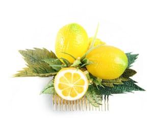 etsy, lemon, and fashion image