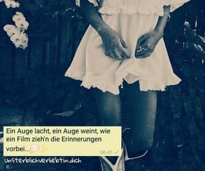 liebe, quote, and traurig image