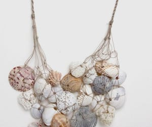 mermaid, fantasy, and seashells image