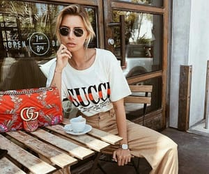 blonde, streetwear, and gucci bag image