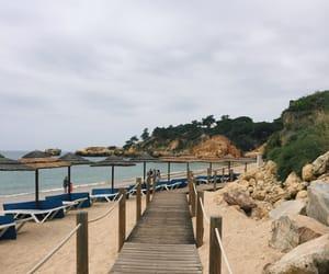 Albufeira, nature, and beach image
