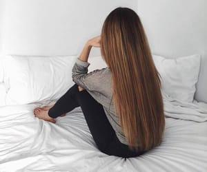 girl, long, and beauty image