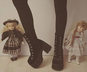 boots, combat boots, and doll image