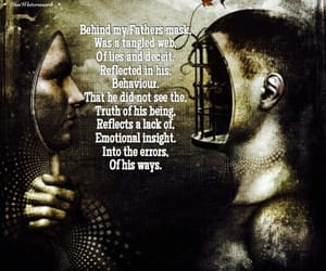 behind, poetry, and deceit image
