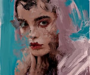 art, arte, and blue image